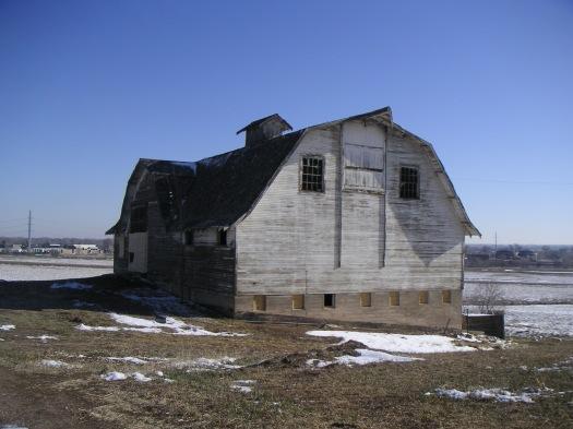 Bank Barn, April 2009