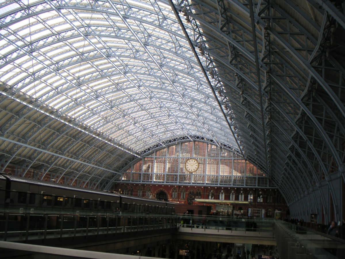Things of Beauty: St. Pancras International Train Station