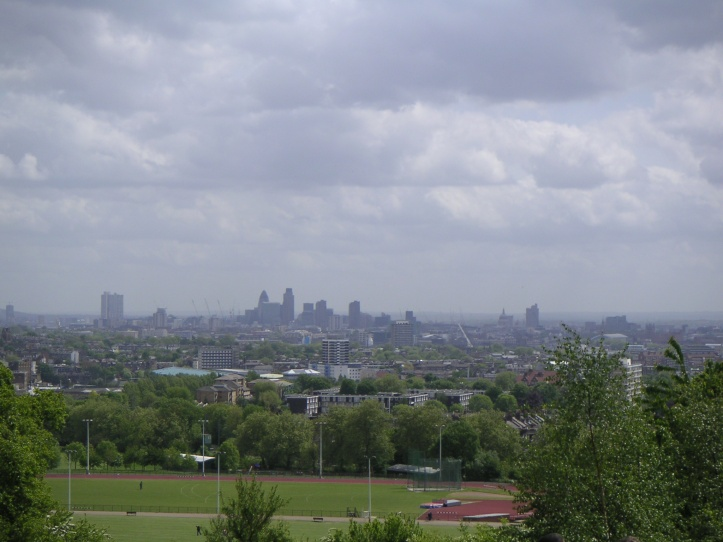 View from Parliament Hill, Hampstead Heath