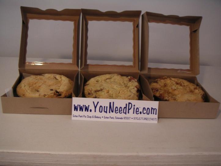 Birthday Pies: Estes Park Pie Company