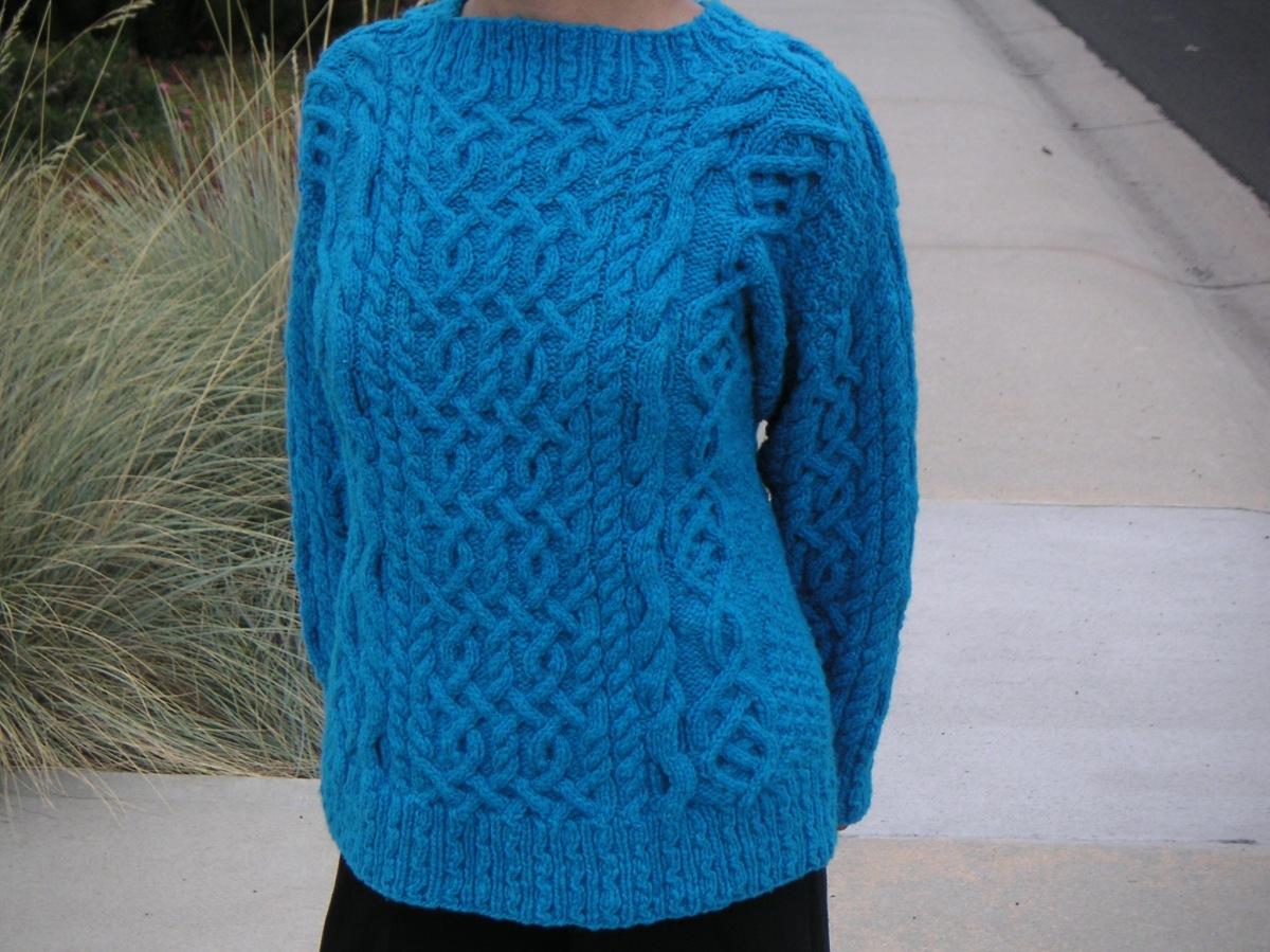 "St. Patrick, designed by Lisa Lloyd, from ""A Fine Fleece: Knitting with Handspun Yarn"""