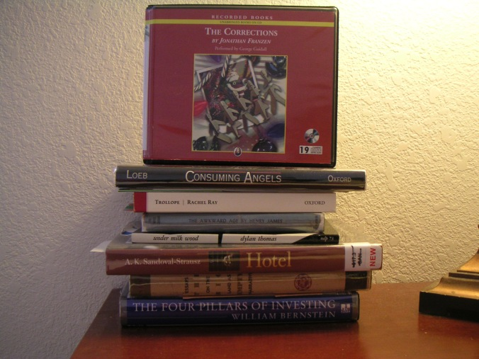 Readings-in-progress: October, 2009