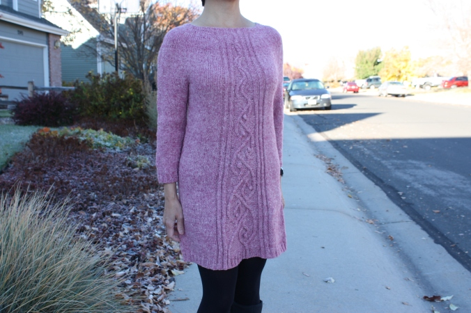 Vortex Street tunic dress