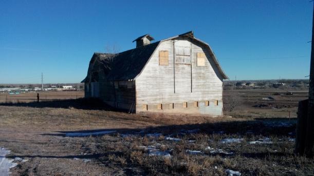 Johnson Farm bank barn