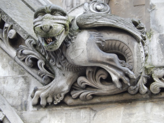 Westminster Abbey gargoyle