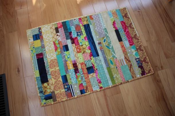 A kitchen floor mat