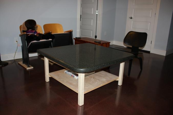 Basement sitting room