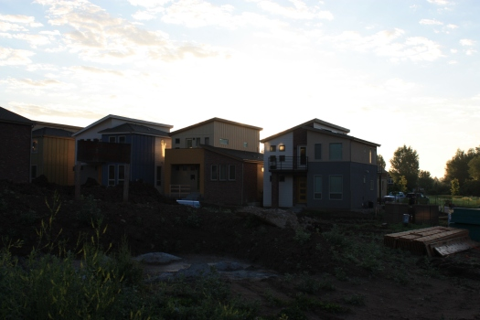 Our subdivision, still under construction.