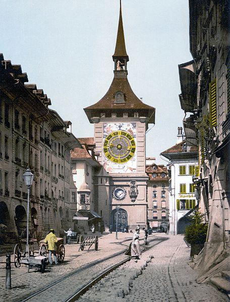 456px-Bern_Clocktower_1900