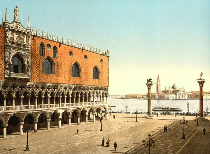 800px-Doge's_Palace_and_piazzetta,_Venice,_Italy,_1890s