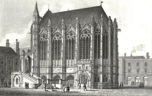 pugin's La Sainte-Chapelle